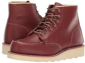 Red Wing Shoes 6 Classic Moc (Colorado Atanado) Women's Lace-up Boots