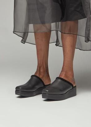Rachel Comey Women's Auder Clog Shoes in Black Size 6
