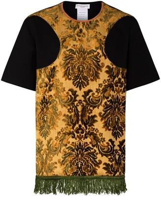 Marine Serre Regenerated carpet-effect T-shirt