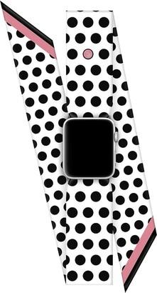 Wristpop Bombshell White 42mm/44mm Apple Watch Scarf Watch Band