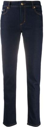 Versace Mid Rise Slim Jeans