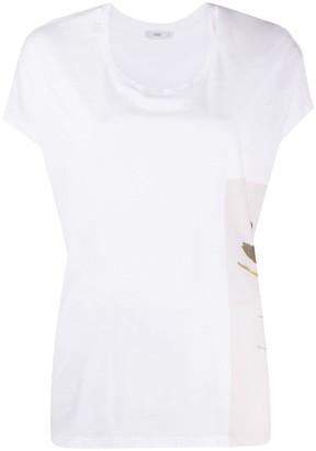 Closed floral-print T-shirt
