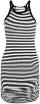 Kain Label Trullie striped cotton and modal-blend mini dress