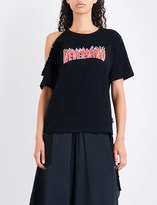 Izzue Nevermind cotton-jersey T-shirt