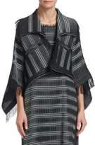 Issey Miyake Gleam Stripes One-Button Jacket