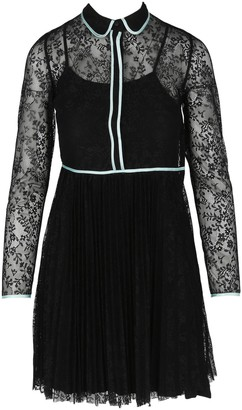 Maje Rabilo Floral-Lace Dress