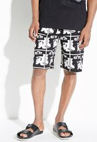 Forever 21 FOREVER 21+ BOY London BOY Photo Print Sweatshorts