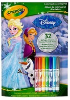 Crayola Frozen Coloring and Activity Pad, 32pgs, 7 Mini Markers - Disney®