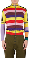 Loewe Men's Striped Zip-Front Cardigan