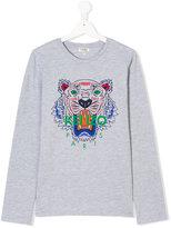 Kenzo Tiger T-shirt - kids - Cotton/Polyester - 14 yrs