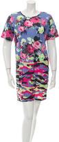 Carven Floral Print Mini Dress w/ Tags
