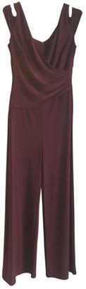 Lauren Ralph Lauren \N Burgundy Jumpsuit for Women