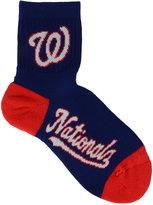 For Bare Feet Washington Nationals Ankle TC 501 Med Socks