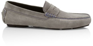 To Boot Soft Suede Driving Loafers