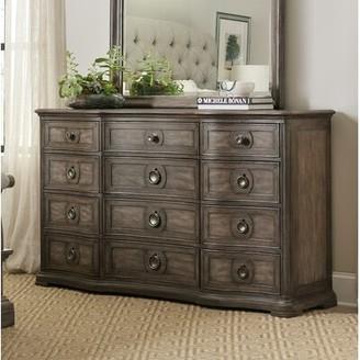 Hooker Furniture Woodlands 12 Drawer Double Dresser