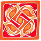 Hermes Virages Silk Scarf