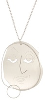 J.W.Anderson Moon Face pendant necklace