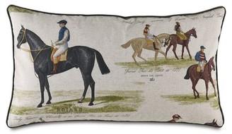 Jockey Eastern Accents Colt Horse Lumbar Pillow Eastern Accents