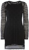 Topshop Lace Knitted Dress