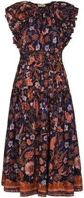 Ulla Johnson Arina floral-print dress