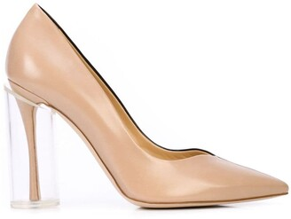 Rosie Assoulin two tone pumps