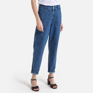 "La Redoute Collections Baggy Boyfriend Jeans, Length 25.5"""