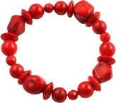 Barse Red Sea Bamboo Stretch Bracelet BRAC155RCRL (Women's)