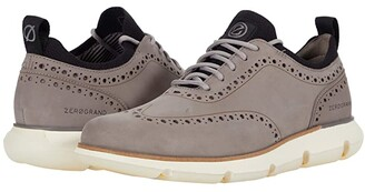 Cole Haan 4.Zerogrand Oxford (Ironstone Nubuck/Ivory) Men's Shoes