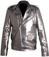Classyak Men's Fashion Xmen Apocalypse Quick Silver Faux Leather jacket Medium