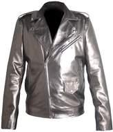 Classyak Men's Fashion Xmen Apocalypse Quick Silver Faux Leather jacket Medium