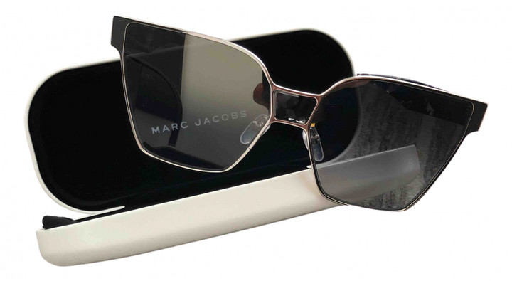 Marc Jacobs Silver Metal Sunglasses