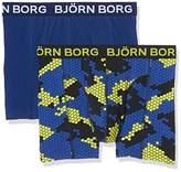 Bjorn Borg Men's 2p Shorts BB Camo