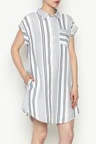 Olive + Oak Olive & Oak Multicolored Stripe Dress