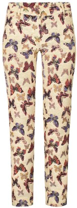 Rue Agthonis Butterfly Print Trousers
