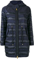 Moncler colour block panelled jacket - women - Feather Down/Polyester/Polyimide - 0