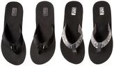 Teva Mush Mandalyn Wedge Two Pair Pack