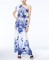 INC International Concepts One-Shoulder Maxi Dress, Only at Macy's