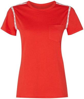 DKNY Sport Sport Taping Logo T Shirt