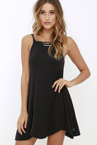 RVCA Thievery Black Dress