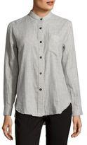 Isabel Marant Hi-Lo Pocket Dress Shirt