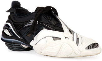 Balenciaga Tyrex Colorblock Chunky-Heel Sneakers