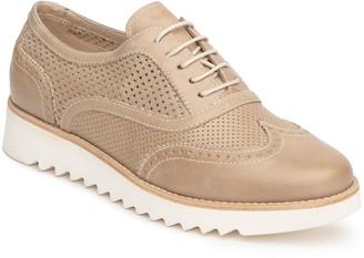 Nero Giardini Perforated Oxford Comfort Loafers