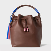 Paul Smith Women's Brown Leather Bucket Bag