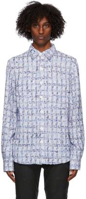 Faith Connexion Purple Tweed Overshirt