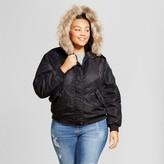 Mossimo Women's Plus Bomber Puffer Jacket
