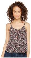Roper 1120 Mini Floral Print Knit Swing Tank Top