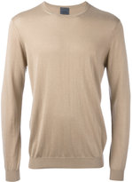 Laneus crew neck jumper - men - Silk/Cashmere - 52