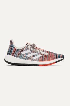 adidas + Missoni Pulseboost Crochet-knit Sneakers - Orange