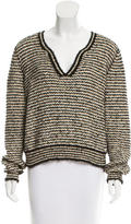 Chanel Textured Knit Top