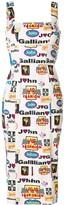 John Galliano Pre Owned Formula 1 dress